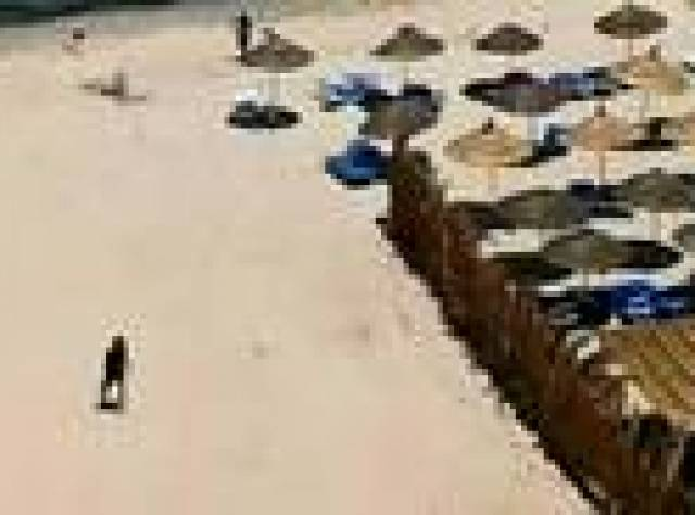 Tunus'taki otele düzenlenen saldırının görüntüleri