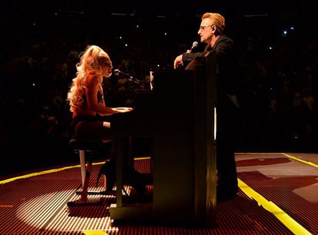 Bono ve Gaga'nın Leziz Düeti