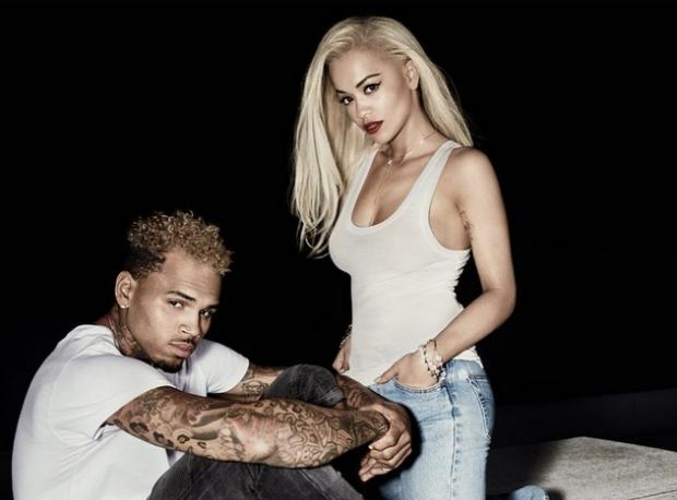 Rita Ora ve Chris Brown Meraklandırdı