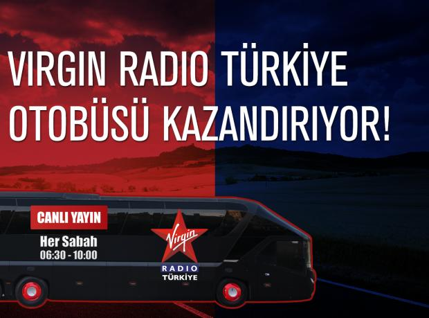 Virgin Radio Türkiye Canlı Yayın Otobüsü Ankara'da!