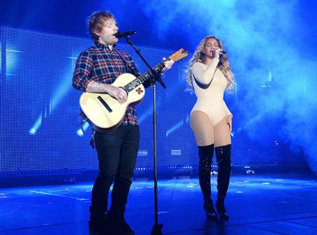 Ed Sheeran ve Beyonce'den Muhteşem Düet!
