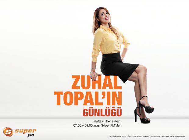 Süper FM Sunar: Televizyonun En Güçlü Kadını Zuhal Topal Radyoda