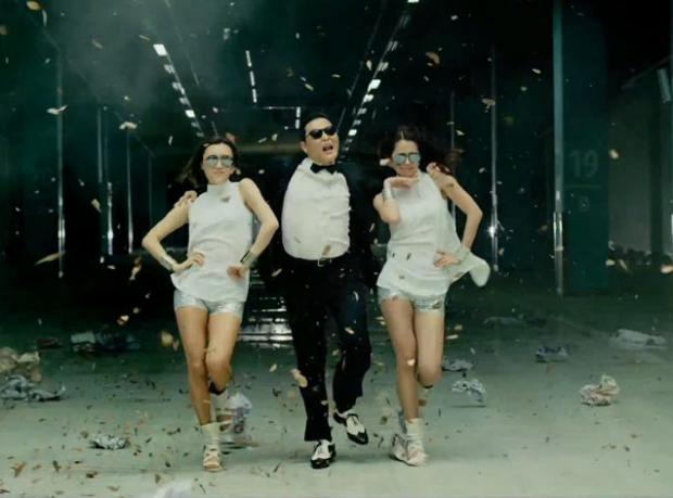'Gangnam Style' Hala Zirvede