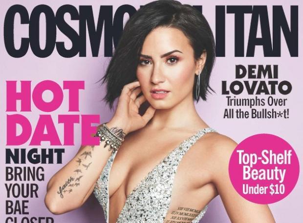 Demi Lovato Kapak Kızı Oldu