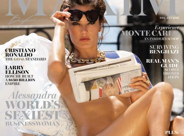 Alessandra Maxim Kapağında!