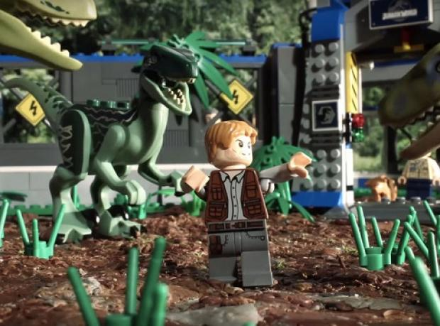 90 Saniyede 'Jurassic World'