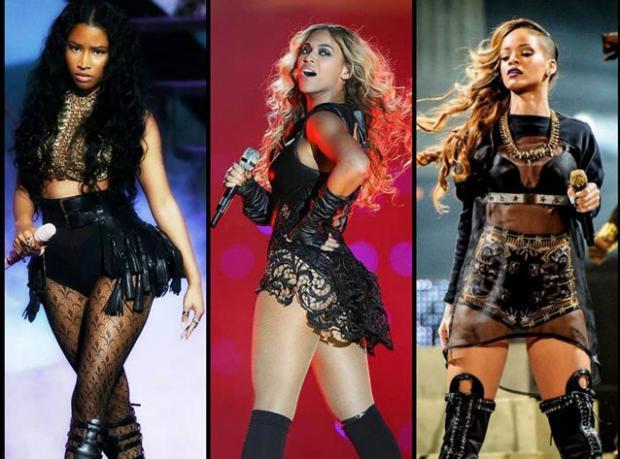 Beyonce, Nicki Minaj ve Rihanna'lı Fragman!