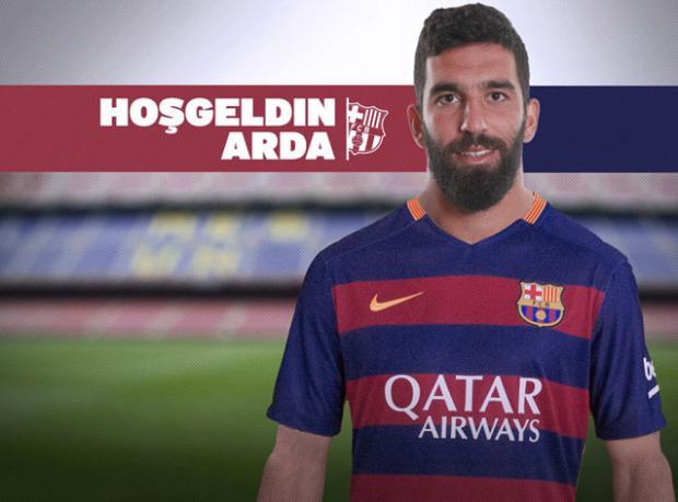 Ve Arda Barcelona'da!