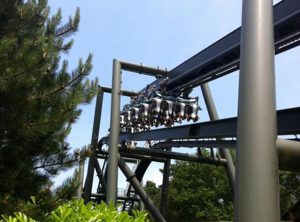 Roller Coaster Bozuldu