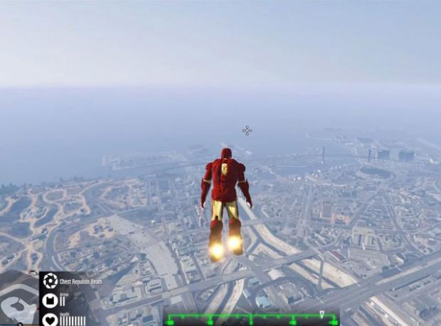 Iron Man GTA 5'te!