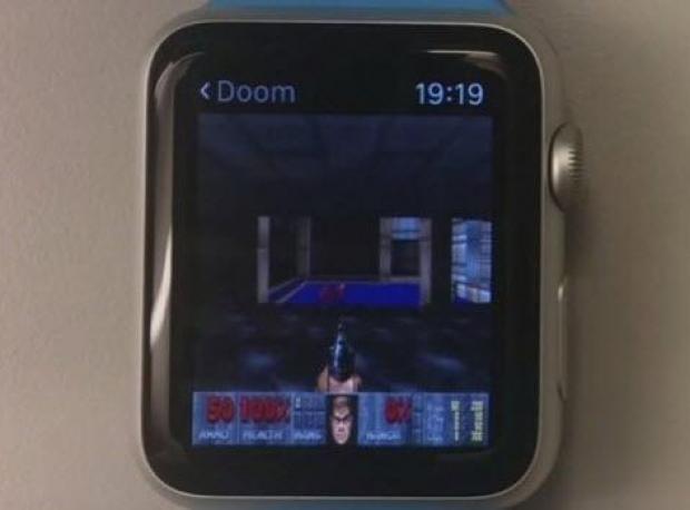 'Doom' Apple Watch'ta Çalıştı
