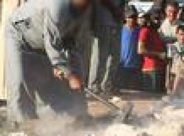 IŞİD, Palmyra'da heykelleri parçaladı