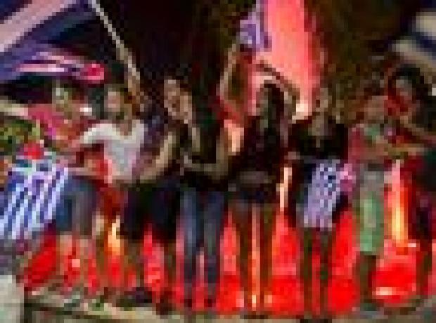 Kurtarma paketine 'Hayır' diyen Yunanlar: Korkmuyoruz