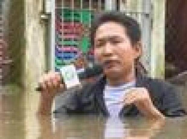 Myanmar'da sel felaketi