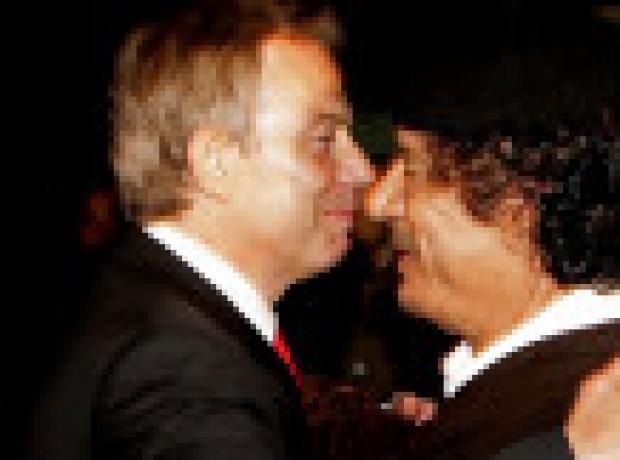 Blair, Kaddafi'yi kurtarmaya mı çalıştı?