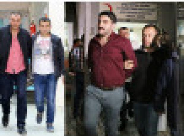 Ahmet Hakan'a saldırmakla suçlanan 7 zanlı adliyeye sevk edildi