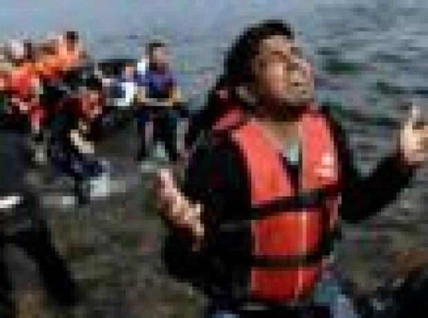 IOM: Yunan adalarına giden göçmen sayısı günde 7 bine çıktı