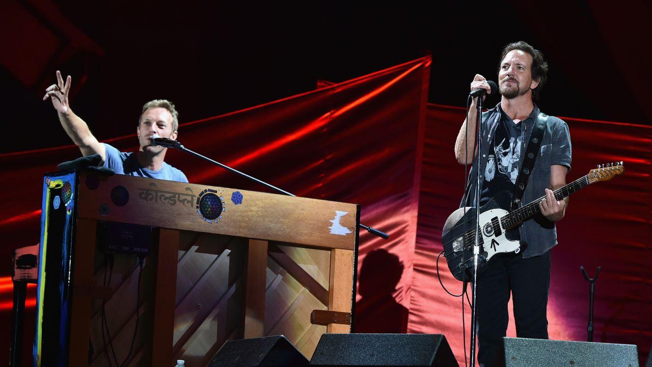 Pearl Jam - Coldplay İşbirliği!